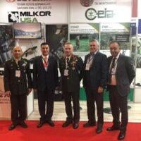 Özel Kuvvetler Komutanı Sayın Ahmet Ercan ÇORBACI standımızı ziyaret etti