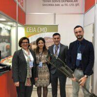 İtalya Savunma Bakanı Sayın Elisabetta Trenta Beta Standımızı Ziyaret Etmişlerdir