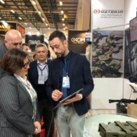 İtalya Savunma Bakanı Sayın Elisabetta Trenta Standımızı Ziyaret Etmişlerdir .....