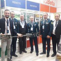 Azerbaycan ordu personeli standımızı ziyaret etti