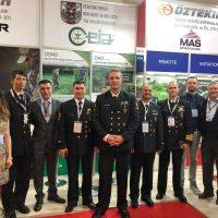 Deniz Kuvvetleri SAS komutanlığı personeli standımızı ziyaret ettii
