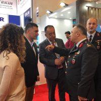 Jandarma Genel Komutanı Personeli standımızı ziyaret etti (2)