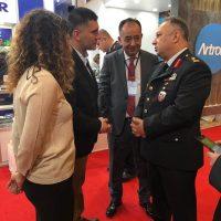 Jandarma Genel Komutanı Personeli standımızı ziyaret etti (3)