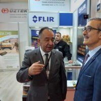 Savunma Sanayi Başkanı Sayın Prof.Dr. İsmail DEMİR standımızı ziyaret etti
